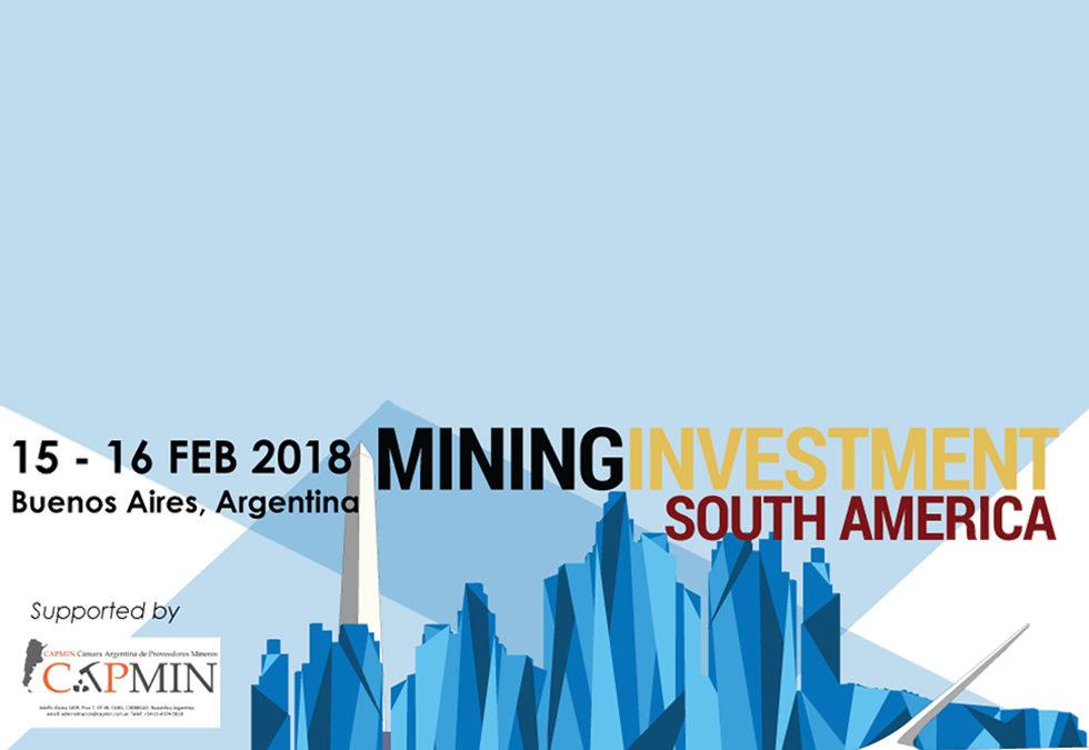 Conferencia Global de Inversiones Mineras.