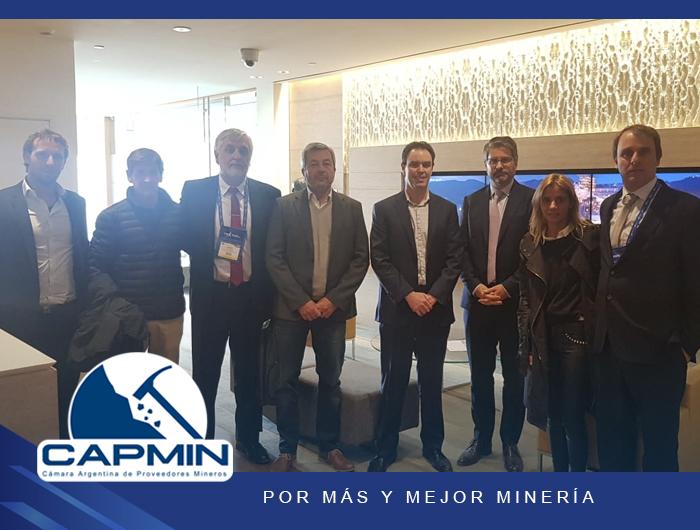 Reunión de CAPMIN con Eliott Ross y Marcelo Álvarez