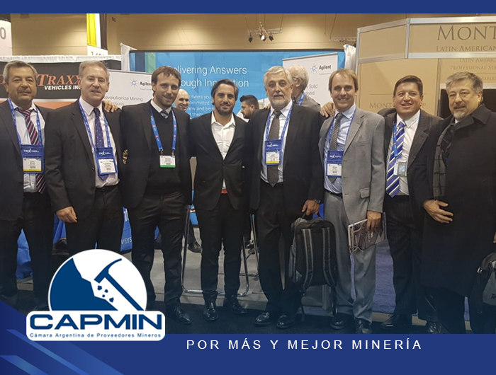 CAPMIN con Agustín Pichot en la PDAC 2019