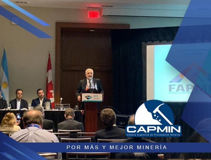 Participación en PDAC 2019, Día de Argentina