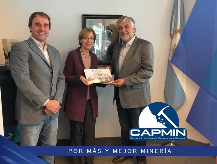 Reconocimiento de CAPMIN al Cónsul en Toronto.